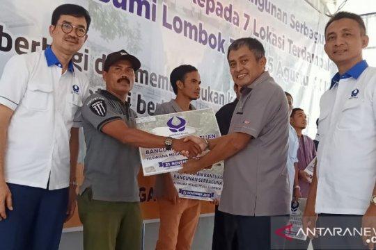 Hiswana Migas serahkan bantuan tujuh bangunan di Lombok