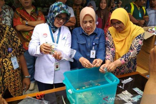 BBPOM Yogyakarta musnahkan 125 kilogram obat kedaluwarsa