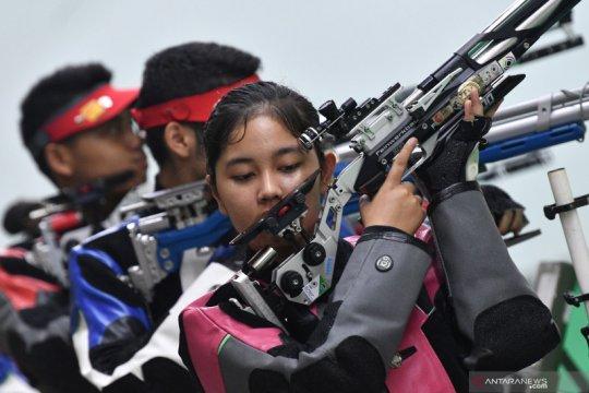 Latihan pelatnas menembak jelang ajang Sea Games 2019