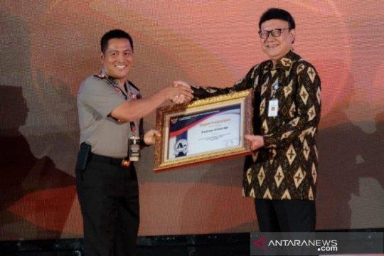 Polres Cilacap raih penghargaan pelayanan publik kategori sangat baik