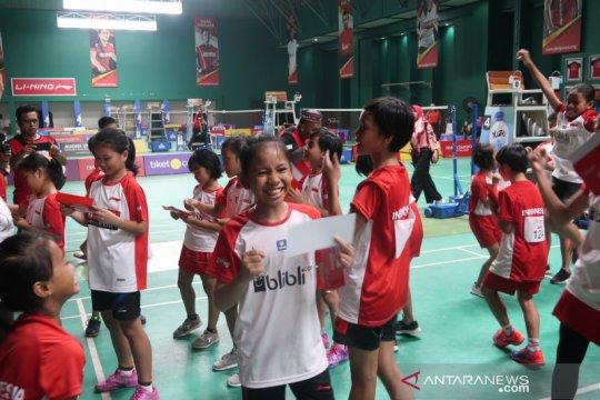 55 peserta Audisi Umum Bulu Tangkis 2019 lolos ke tahap karantina