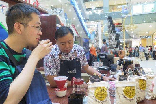 Kopi jadi produk andalan pelajar Indonesia di Nanjing