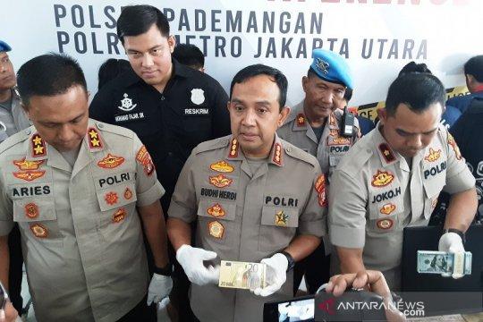 Polres Jakarta Utara gagalkan penyebaran dolar Amerika palsu
