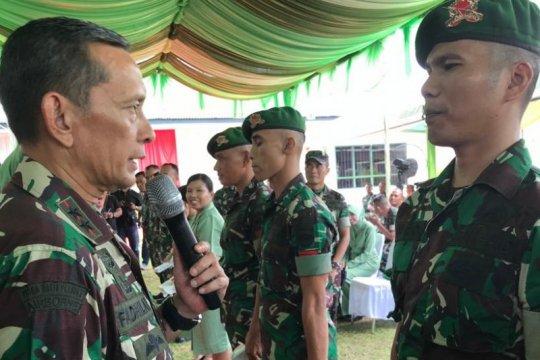 Pangdam I/BB; Prajurit TNI AD hindari penggunaan narkoba