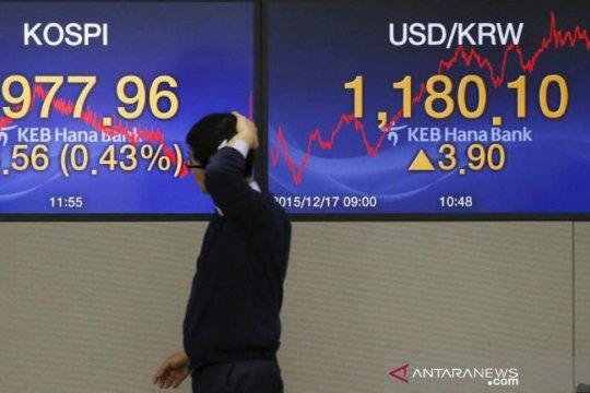 Saham Korsel turun lagi dengan indeks KOSPI kehilangan 0,56 persen