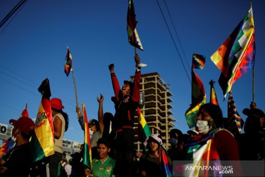 Mantan presiden Bolivia gelar rapat di perbatasan Argentina
