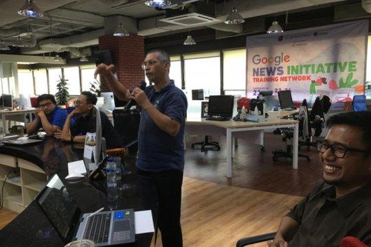 Ratusan wartawan ikuti pelatihan cek fakta serentak AJI di 23 kota