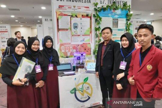 Mahasiswa UMM sabet emas inovasi pertanian digital di Singapura