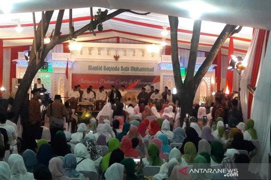 Ma'ruf Amin hadiri Maulid Nabi Muhammad di Yogyakarta