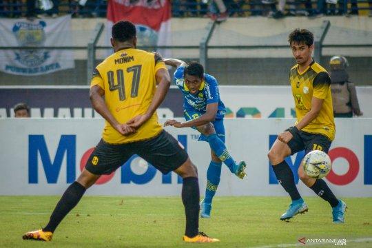 Persib Bandung vs Barito Putera berakhir imbang
