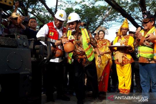 Pembangunan tanggul tsunami di Kota Palu telan dana Rp250 miliar