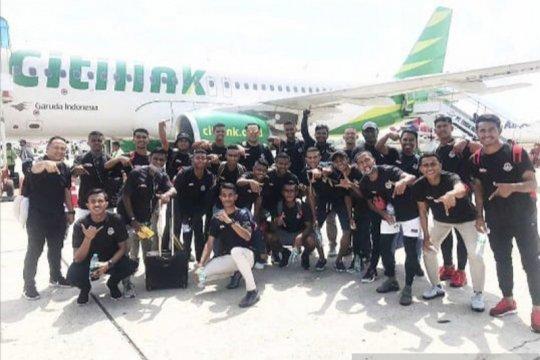 Tim sepakbola pra PON NTT  TC di Surabaya