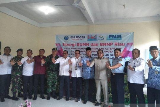 Gubernur Riau minta citra Kampung Dalam kampung narkoba segera dirubah