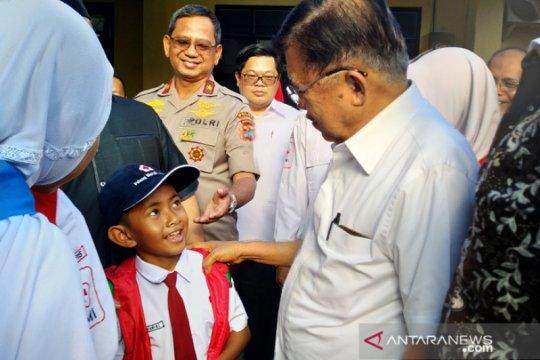 Jusuf Kalla puji donor darah PMI Kota Pangkalpinang