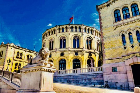 Dubes Temui Kemenlu  Norwegia  di Oslo