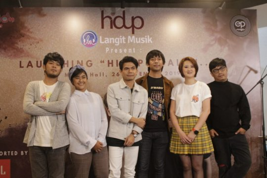 Hidup band gandeng Rian D'MASIV rilis mini album