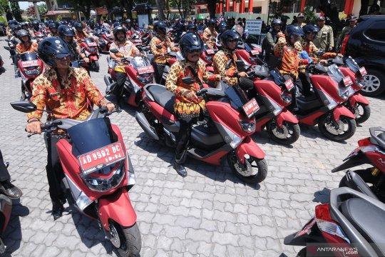 Pembagian motor dinas untuk Kepala Desa di Klaten
