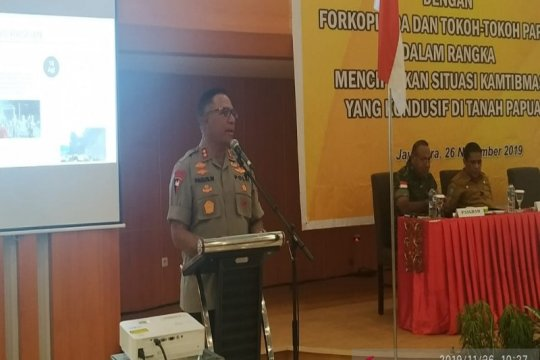 Polda Papua gelar pertemuan dengan tokoh masyarakat bahas kamtibmas