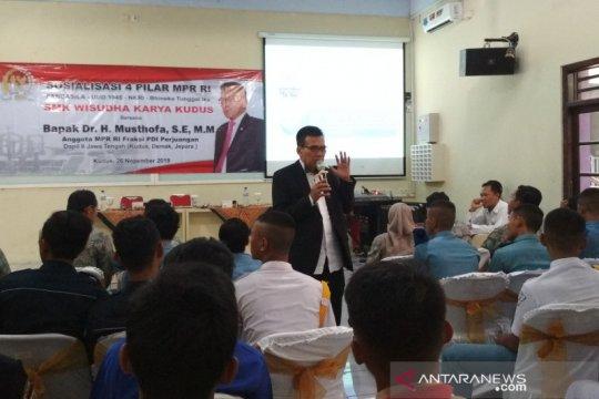 MPR sosialisasi empat pilar kebangsaan kepada pelajar di Kudus