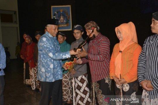 Pemkab Sleman serahkan gamelan kepada Kelompok Masyarakat Kebudayaan