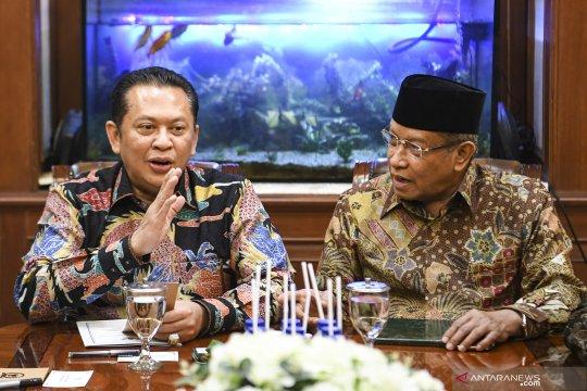 Pimpinan MPR kunjungi PBNU