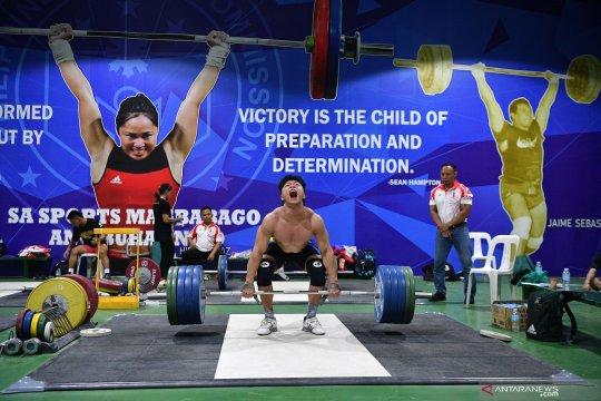 Rahmat Erwin Abdullah diganjar hadiah jelang tampil di Olimpiade Tokyo