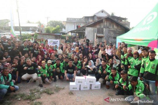ACT Sumsel - Gojek beri layanan kesehatan dan pangan gratis
