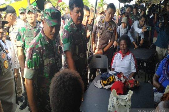1.012 Warga perbatasan RI-PNG  dapat pelayanan kesehatan di Skow