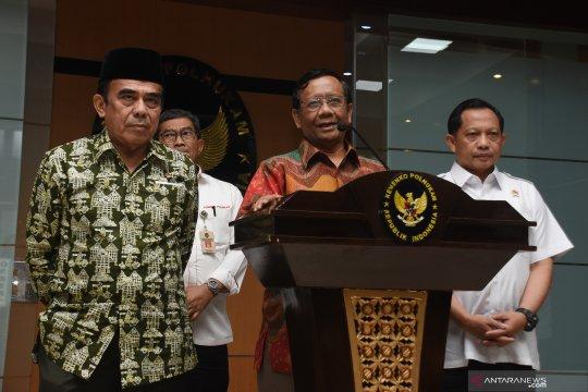 Ke Papua jelang HUT OPM, Mahfud: Kunjungan biasa