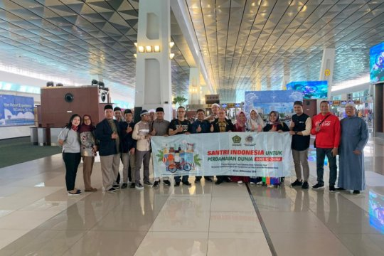 Indonesia berangkatkan Santri untuk Perdamaian Dunia ke China
