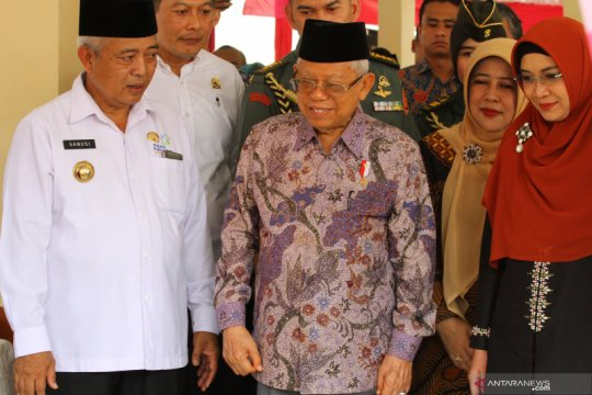 Wapres tinjau penanganan stunting di Malang