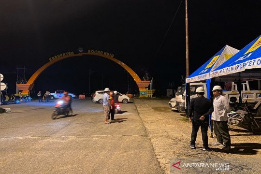 PLN masih padamkan listrik di tujuh daerah banjir Rohul Riau