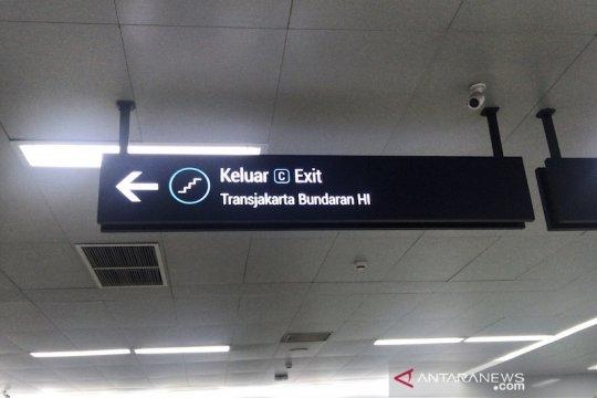 Halte TransJakarta Dukuh Atas 2 berpindah imbas proyek LRT Jabodetabek