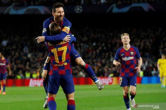 Liga Champions: Barcelona melaju ke babak 16 besar