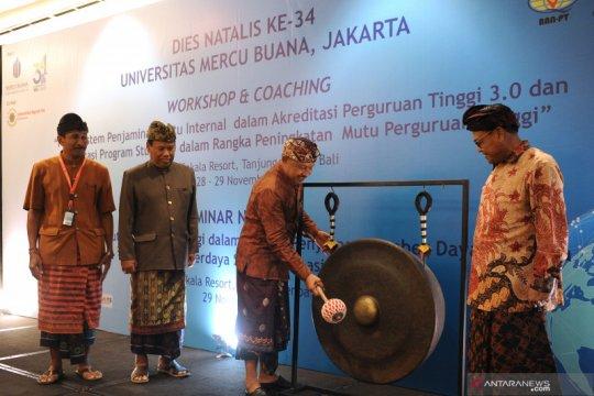 Seminar nasional UMB di Bali dorong budaya mutu perguruan tinggi