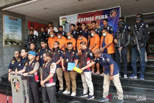 Satgas Anti Mafia Bola tangkap enam orang tersangka pengaturan skor