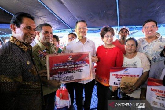 Bantuan logistik Rp1,19 miliar untuk korban gempa Maluku
