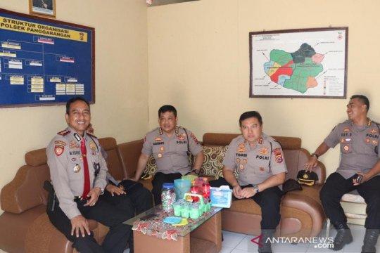 Kapolda Banten kunjungi Polsek Penggarangan dan Bayah di Lebak