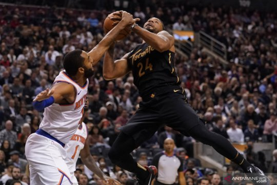 NBA: Toronto Raptors taklukan New York Knicks 126-98