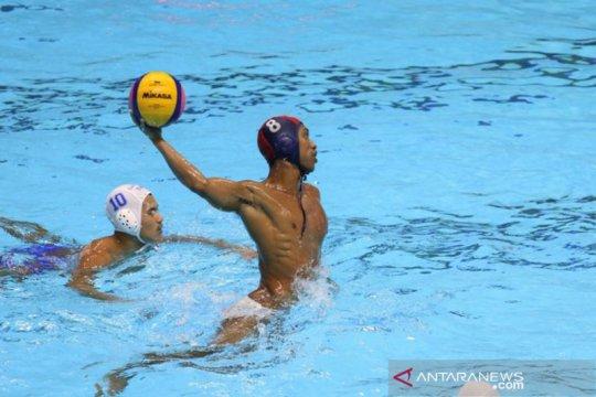 Indonesia puncaki klasemen polo air putra usai kalahkan Thailand 17-12