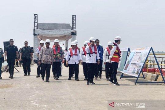 Presiden: Perhatikan dampak Pelabuhan Patimban bagi nelayan