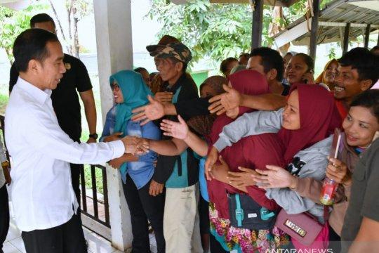 Presiden Jokowi sidak layanan BPJS Kesehatan di Subang