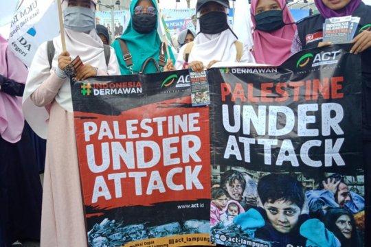 Puluhan ormas gelar gerakan peduli Palestina
