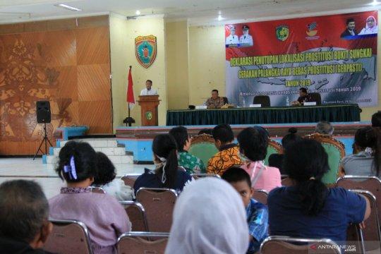 Pemerintah Kota Palangka Raya tutup praktik lokalisasi Bukit Sungkai