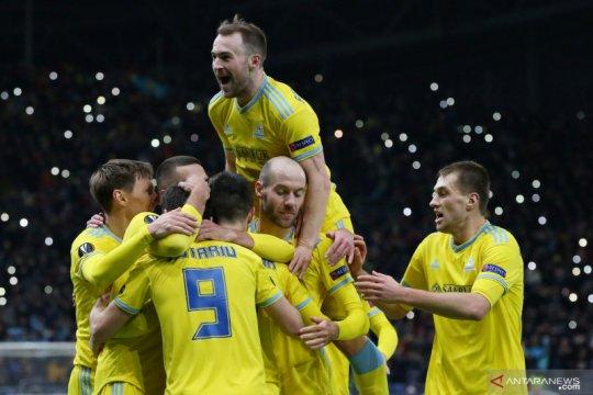 Liga Europa: Astana taklukan Manchester United 2-1