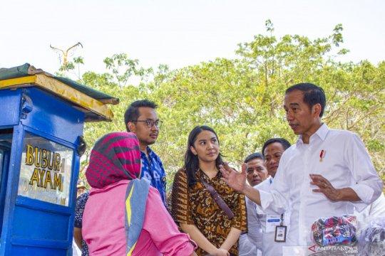 Presiden Jokowi temui nasabah Mekaar