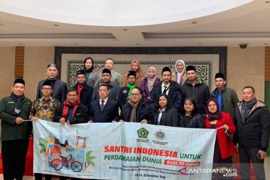 Santri Indonesia berdialog dengan Sekjen China Islamic Association