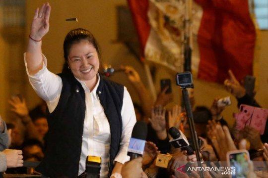 Pemimpin oposisi Peru Keiko Fujimori bebas dari penjara