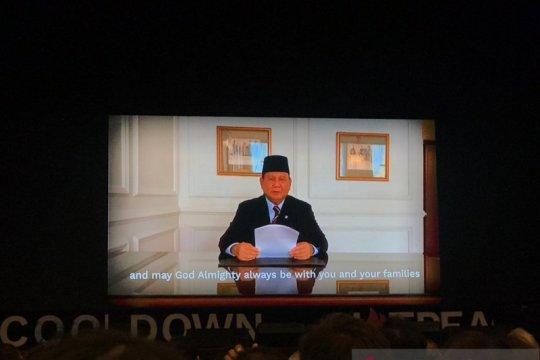Prabowo sebut Indonesia akan aktif promosikan diplomasi pertahanan