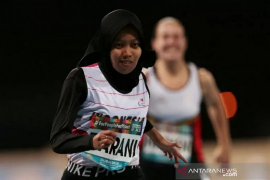 Karisma Evi Tiarani lolos ke final lari 100m Paralimpiade Tokyo